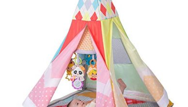 A review of Grow with Me Playtime Teepee Gym by infantino
