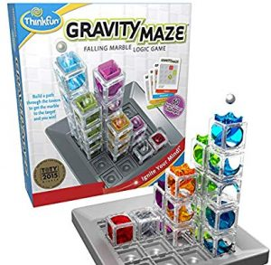 ThinkFun Gravity Maze Marble Run Brain Game and STEM Toy for Boys and Girls Age 8 and Up